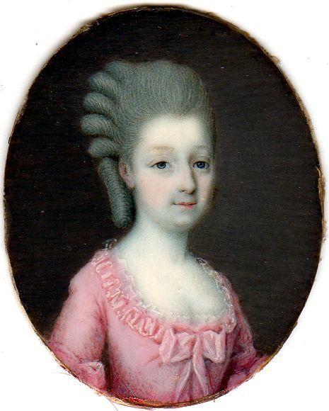 1770s - Princess Maria Teresa of Savoy by ?
