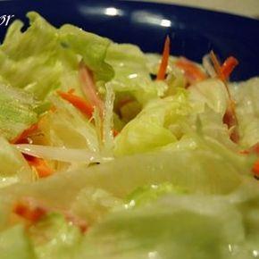 ¡La famosa salsa blanca de la ensalada china! Conseguí la receta y no dudé en hacerla ya que siempre me he preguntado como se hacía ese aliño blanco tan delicioso. Al principio pensaba que era una…