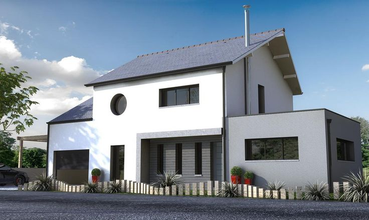 Cette maison familiale contemporaine est composée de 4 chambres dont une suite parentale. Les particularités de cette construction ? Des[...]