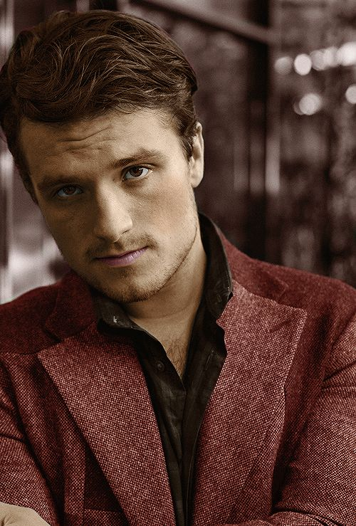 Josh Hutcherson photographed by Hiroyuki Seo for DuJour Magazine (coloured version) November 2015.