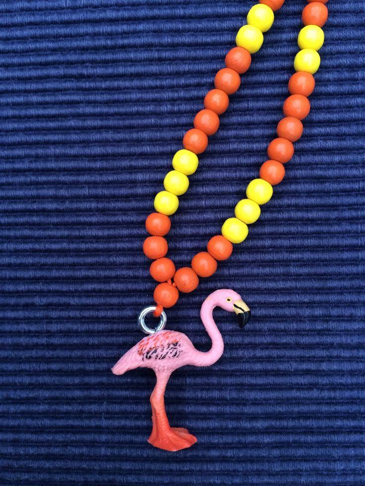Schleichtierkette Flamingo