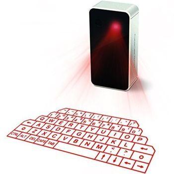 Лазерная bluetooth клавиатура для ios, android