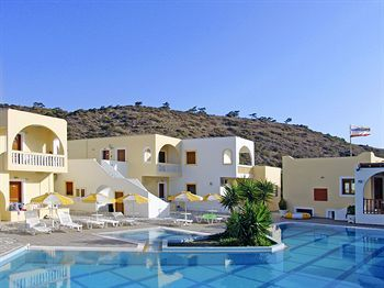 Journey's End...my brother's hotel on karpathos island greece....