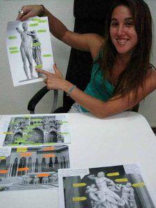 Lorena Vazquez. Clases. Preparación. Arte 10. Prueba específica. Grado Superior. Diseño. Arte Casellas