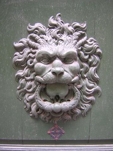 Heurtoir de porte  91 rue Quincampoix  Paris 75003