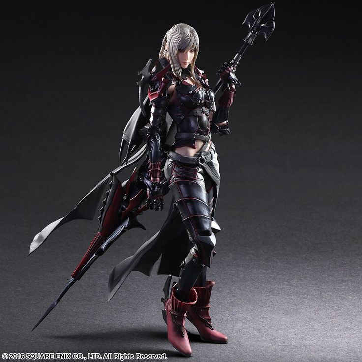 Serpentor's Lair | Play-Arts-Kai-Final-Fantasy-XV-Aranea-Highwind-002