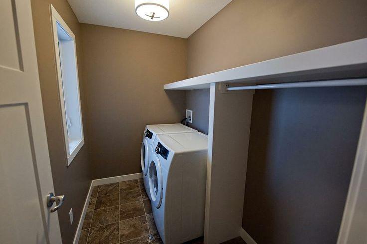 Washer dryer nook with side closet.  https://www.facebook.com/media/set/?set=a.193562914059347.48041.135706893178283&type=3