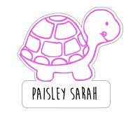 Get Paisley Sarah free stickers to use on your agenda, car, water bottle, or laptop!
