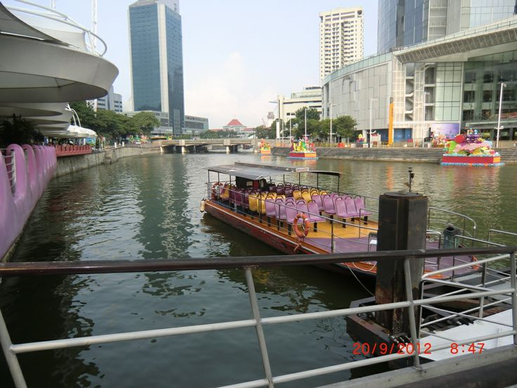 "Singapore - Boat Quay. Singapore is an amazing city. Definition of the word ""Pristine""."