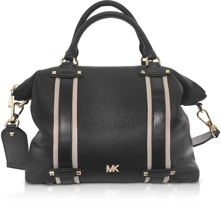 bb8bbec9236b Michael Kors Pebbled Leather Griffin Large Satchel in 2019 ...