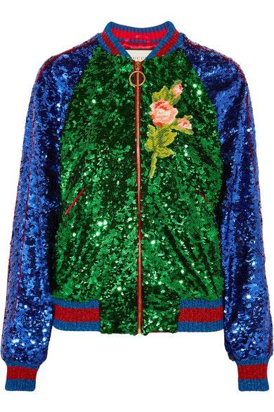 Multicolored sequined tulle and satin Zip fastening through front 100% polyamide; trim: 46% cotton, 32% viscose, 14% metal fiber, 7% polyamide, 1% elastane; lining: 100% cupro Dry clean Made in Italy