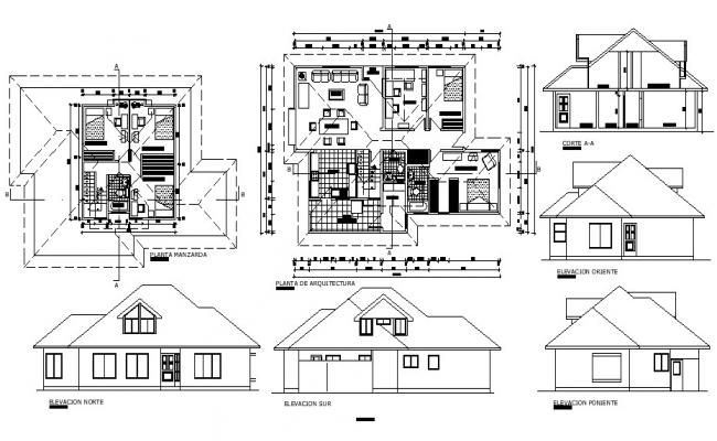 Row House Plan With Detail Dimension In Autocad House Drawing Open House Plans Simple House Plans