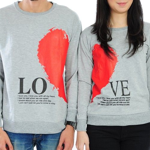 Couple Love Hoodie Jacket For Valentine Day | Trend Vogue