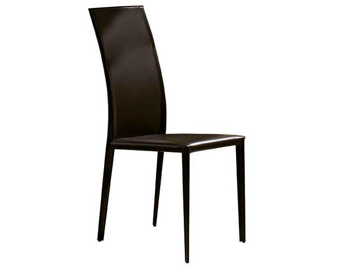 Gepolsterter Stuhl mit hoher Rückenlehne PRIX by Midj | Design Paolo Vernier