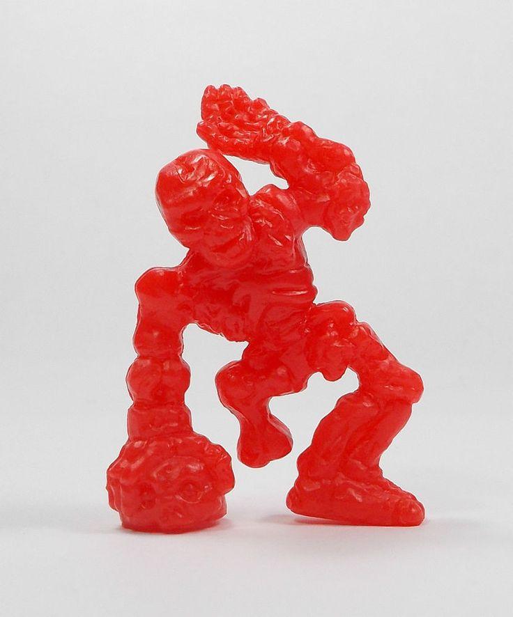 Monster In My Pocket - Series 1 - 47 Skeleton - Red