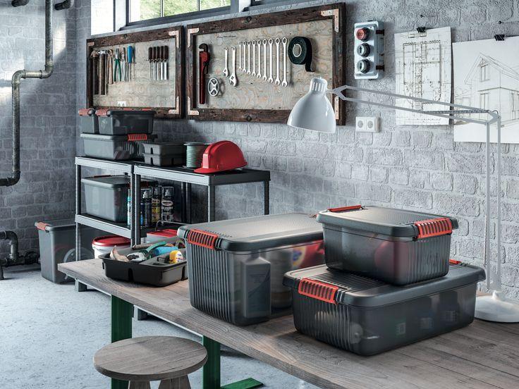 Cajas para organizar las herramientas