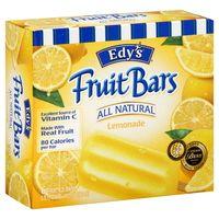 edy's fruit bars -lemonade popsicle. Feingold Diet (S1)
