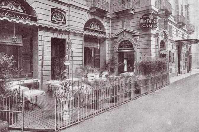 RISTORANTE IL CAMBIO , locale storico a Torino