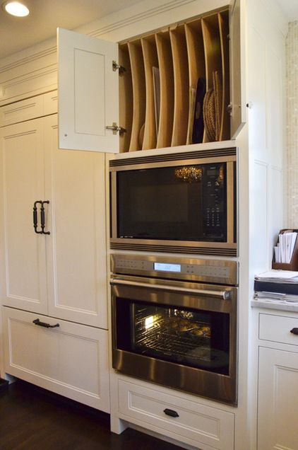 10 best ideas about double ovens on pinterest double for Eye level oven kitchen designs