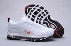 81c6f188e4ac Nike Air Max 97 Cone white   orange BQ4567-100 Sneaker Men s Women s Shoes