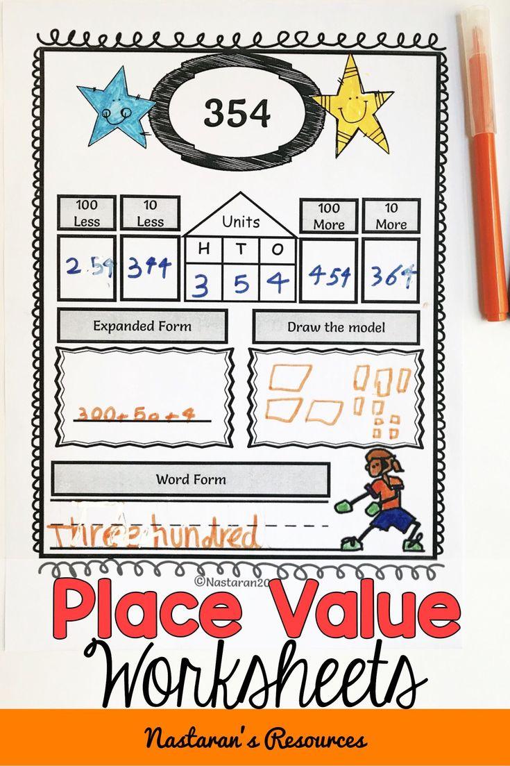 Place Value Worksheets 2nd Grade | Place value worksheets ...