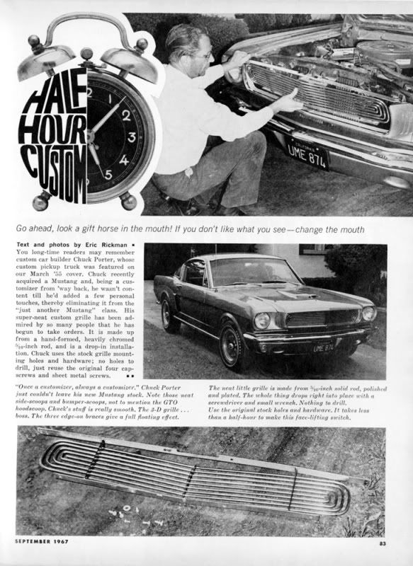 tube grilles / custom grilles late 50's to the 70's - Page 5