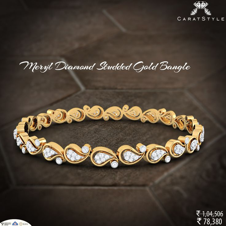 """""""Love Engraved And Embroidered"""" #bangle"""