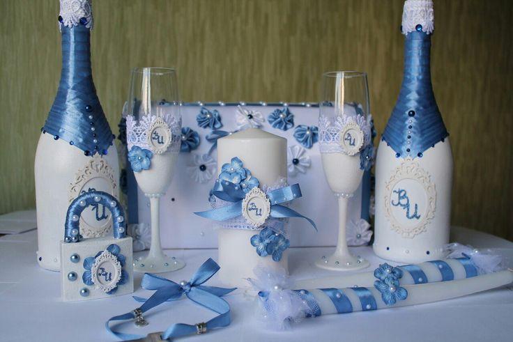 свадебные аксессуары, свадебное шампанское, свадебные бокалы, свадебная казна, семейный очаг, свадебный замок