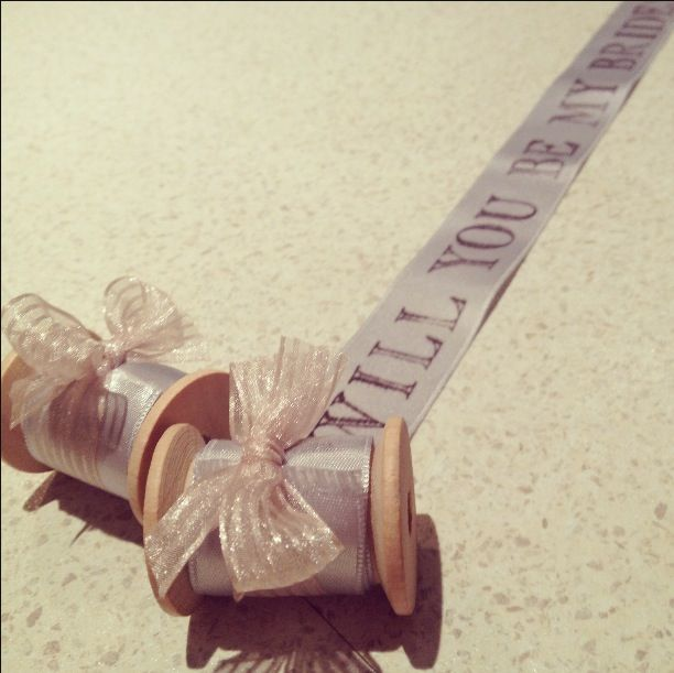 Will you be my bridesmaid gifts. Handmade for your bridesmaids
