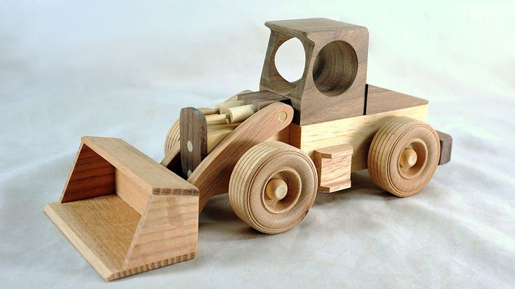 Cool Wood Toys : The loaders are all sold thanks so much for your support