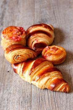 Les meilleurs croissants au monde ! Une recette de Thierry Delabre, qui a su…