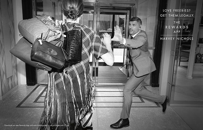 Rewards by Harvey Nichols Ad Campaign-Handbags