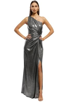 Lopez One Shoulder Gown
