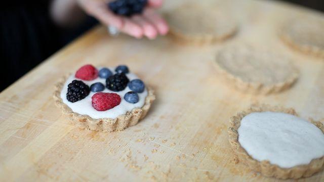 vanilla cream tarts #roost