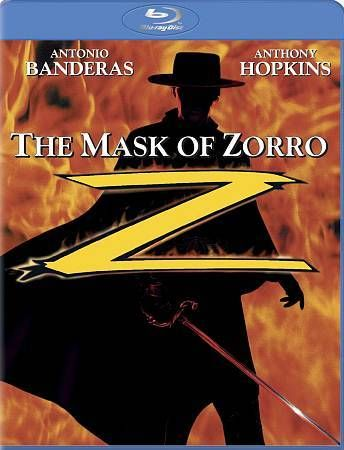 Cleaning out the closet: The Mask of Zorro Blu-Ray NEW Factory sealed Antonio Banderas,Anthony Hopkins