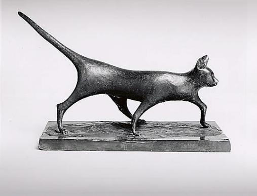 Gatto - cat | bronze sculpture, 1947 | Pericle Fazzini