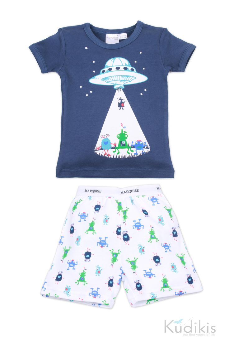 Fun and imaginative; these Aliens Boys Pyjamas by Marquise are cool and comfortable. $32.95