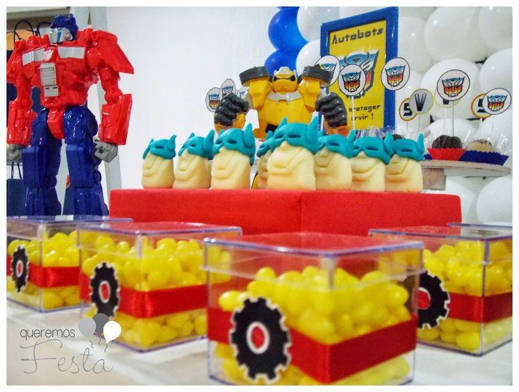 Queremos festa: Festa Transformers do Victor e apenas um mês para os Autobots chegarem!