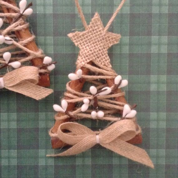 Cinnamon Xmas Decor / Christmas Tree Ornaments / by CraftsbyBeba