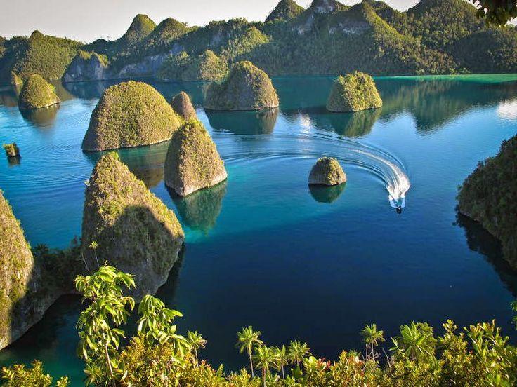 raja ampat island pined from http://goo.gl/KDmsRJ