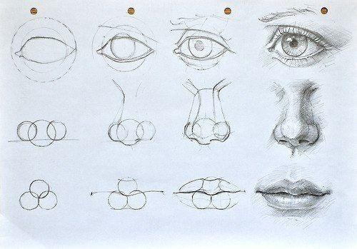 Рисуем лицо More