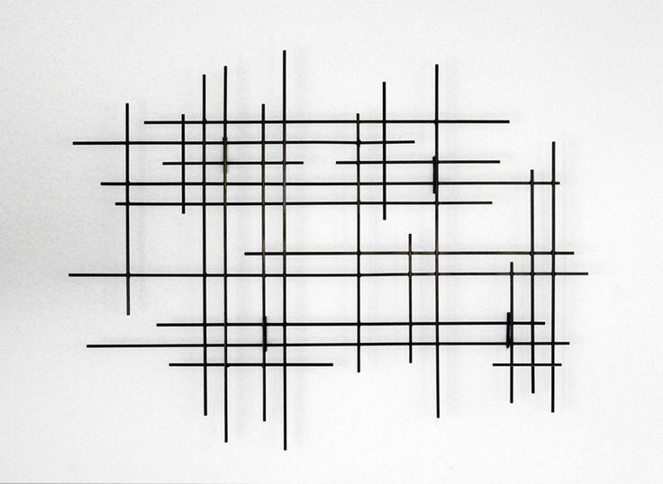 Linear by Karo Martirosyan (Metal Wall Sculpture)   Artful Home