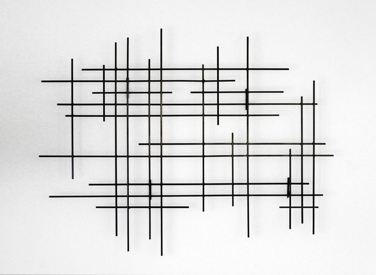 Linear by Karo Martirosyan (Metal Wall Sculpture) | Artful Home