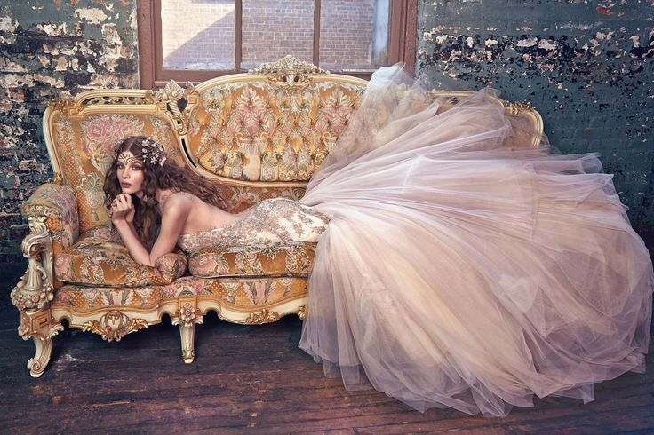 Bohemian Wedding Gown Collection | Galia Lahav debuts new collection on Strictly Weddings.
