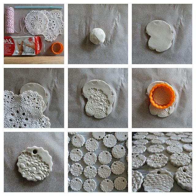 10 images about christmas clay on pinterest clay for Air dry clay crafts