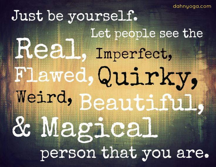 Just Be Yourself Quotes. QuotesGram
