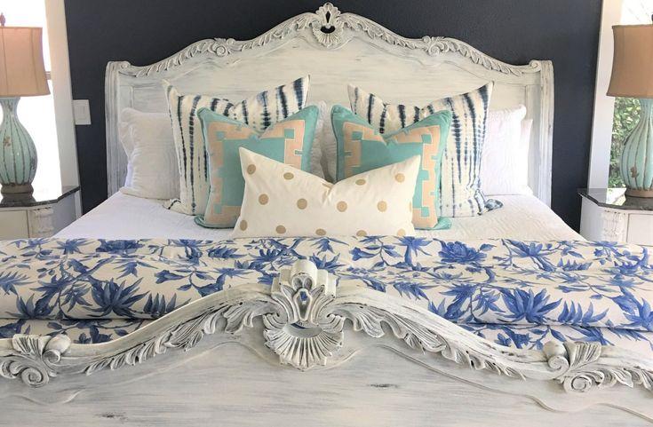 Residence Tour: Coastal Farmhouse Grasp Bed room