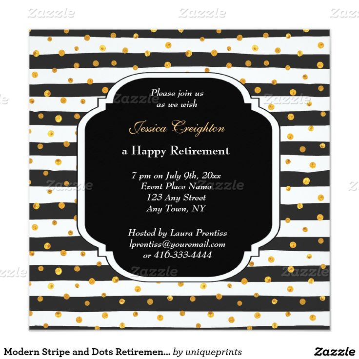 55 best images about retirement celebrations on pinterest for Dots and stripes party theme