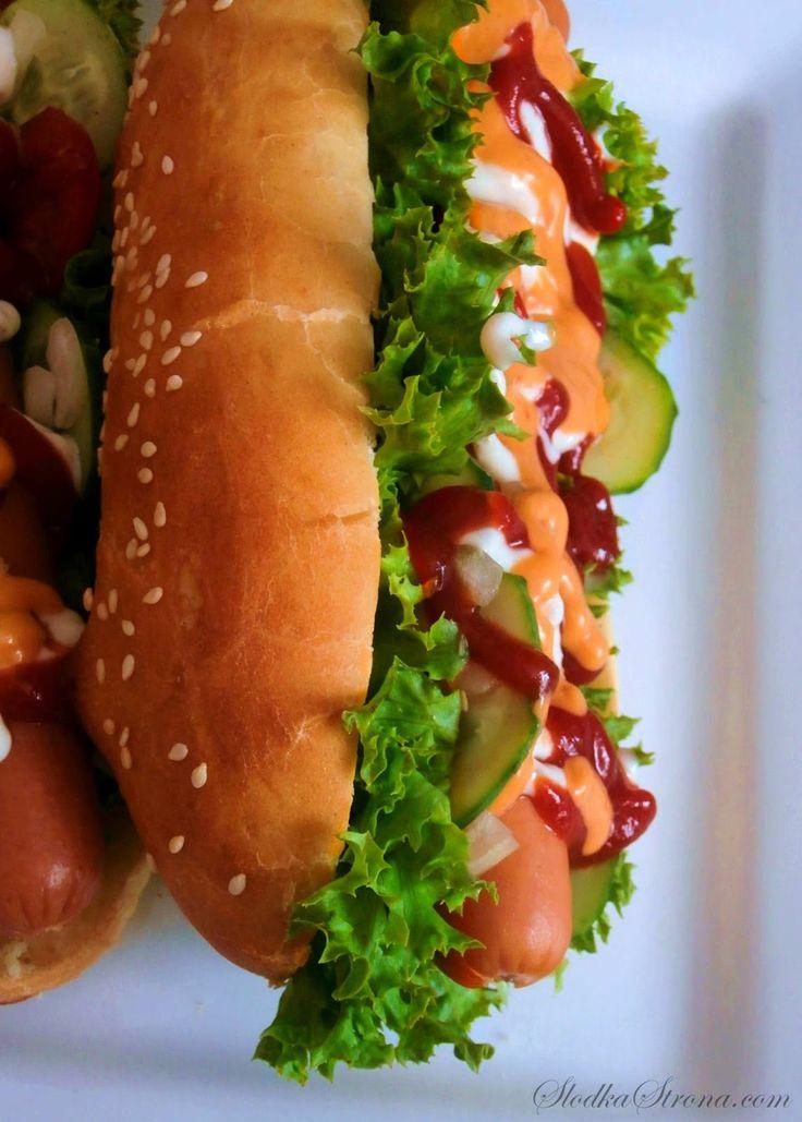 Słodka Strona: Domowe Hot-Dogi