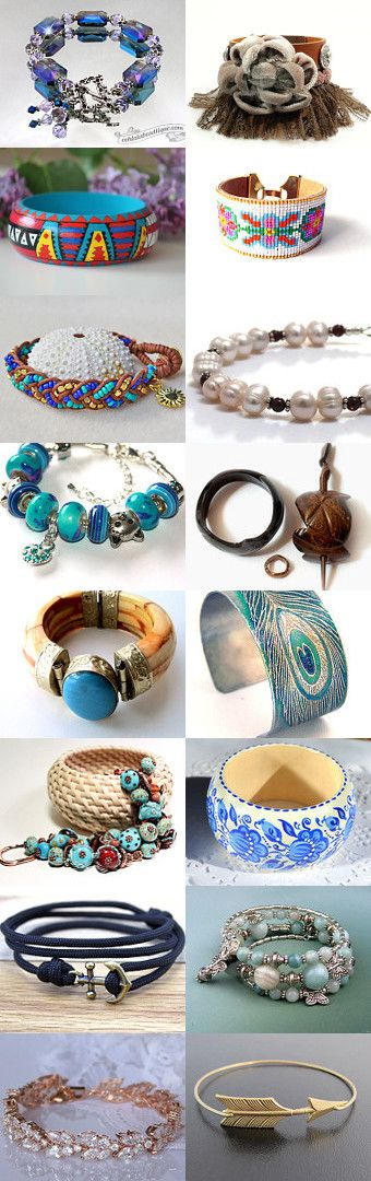 I Spy Bracelets by Sandra Rigakos on Etsy--Pinned+with+TreasuryPin.com